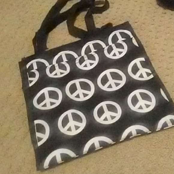 Handbags - Peace Sign Tote Bag